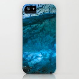 The underground lake iPhone Case
