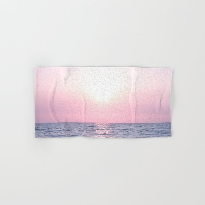 Ocean waves #pink Hand & Bath Towel