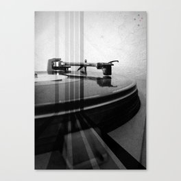 Turntable Retro Canvas Print