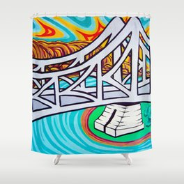 Pop Goes The Story Shower Curtain
