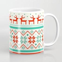 Festive Fair Isle Coffee Mug