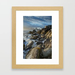 The Cuillin From Elgol Framed Art Print