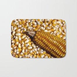 Yellow corn Bath Mat