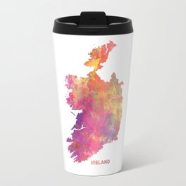 Ireland map #ireland #map Travel Mug