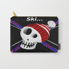 Ski or Die! Carry-All Pouch