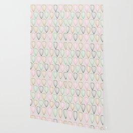 Pastel Shells Wallpaper