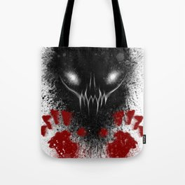 Bloody Hands Tote Bag