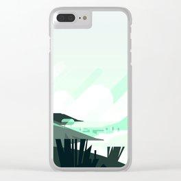Beach City Clear iPhone Case