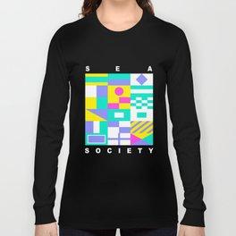Sea Society (dark) Long Sleeve T-shirt