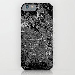San Jose Black Map iPhone Case