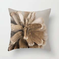 morior // No. 02 Throw Pillow
