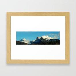 Vercors plateau Framed Art Print