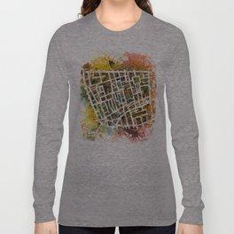 Soho London Map Long Sleeve T-shirt