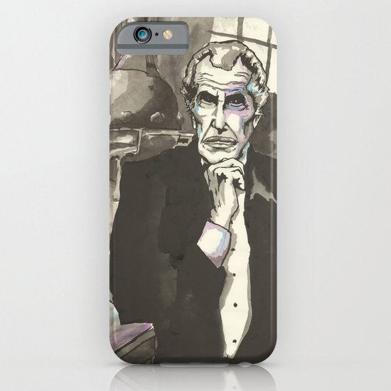 Portrait of Vincent Price in the Laboratory iPhone & iPod Case