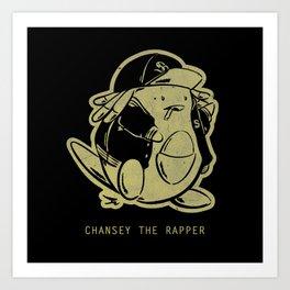PokéRappers: Chansey the Rapper Art Print