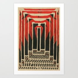 criticism to critique Art Print