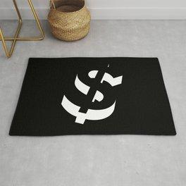 Dollar Sign Rug