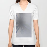 palm tree V-neck T-shirts featuring PALM TREE by vlphotography