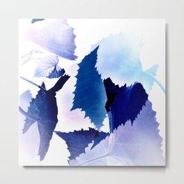 transparent leaves Metal Print