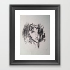 Open Your Eyes... Framed Art Print