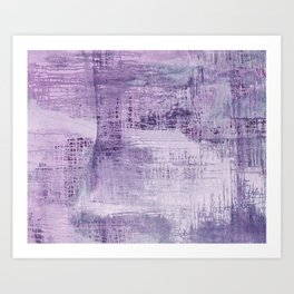 Dreamscape in Purple Art Print