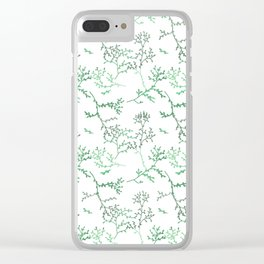 evergreen branch dance Clear iPhone Case
