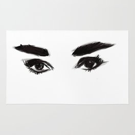 Audrey's eyes Rug