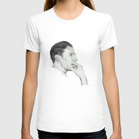 cumberbatch T-shirts featuring Benedict Cumberbatch by Cécile Pellerin