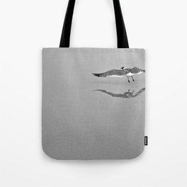 Gull Reflection Tote Bag