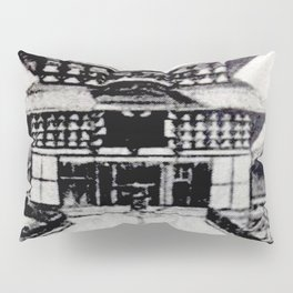 Todaiji Temple Pillow Sham