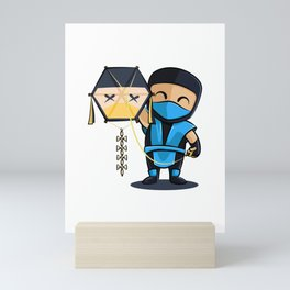 Sub-Zero Test your kite Mini Art Print