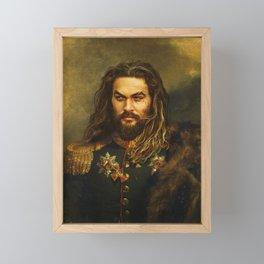 Jason Momoa - replaceface Framed Mini Art Print