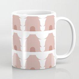 Dwellings in Dusty Rose Coffee Mug