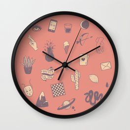 This Is Not A Love Story Wall Clock