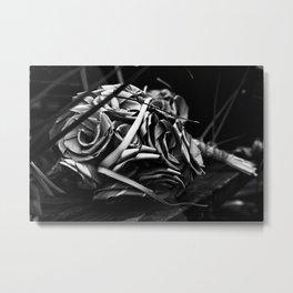 Shape & Bloom Metal Print