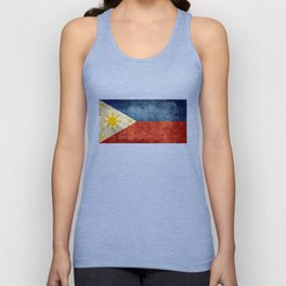 Republic of the Philippines national flag (50% of commission WILL go to help them recover) Unisex Tank Top