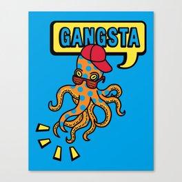 Gangstapus Canvas Print