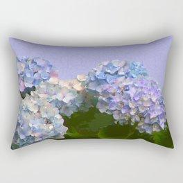 Hydrangeas Rectangular Pillow