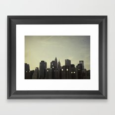 Building Conversations  Framed Art Print