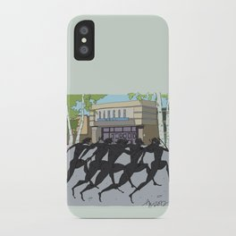 """""""I'm just gonna run in"""" (Bangor Maine Mall) iPhone Case"""
