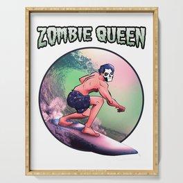 Ghost Zombie Queen Ghuleh Serving Tray