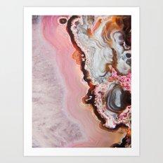 Spring Agate Art Print