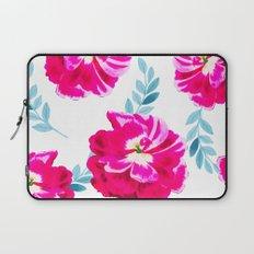 Fluorescent Florals #society6 #decor #buyart Laptop Sleeve