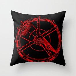 Sacrobosco Lunar Eclipse Throw Pillow