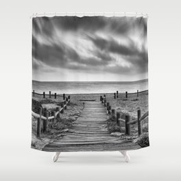 Come to the beach.... Summer dreams Shower Curtain