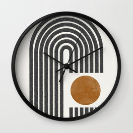 Modern Shape Art Wall Clock