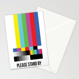 Color Bars Stationery Cards