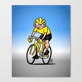 Cyclist - Cycling Canvas Print