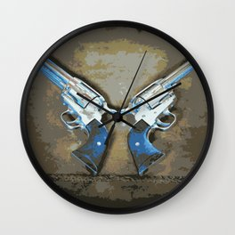 Pistola Wall Clock