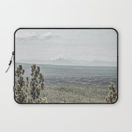 True Grain // Gritty Desaturated Detail of the Oregon Coast Mountains and Woods Laptop Sleeve